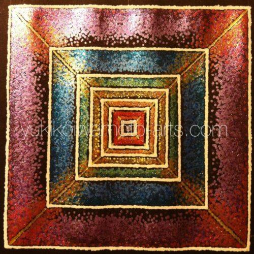 曼荼羅アート「創造」|Mandala art