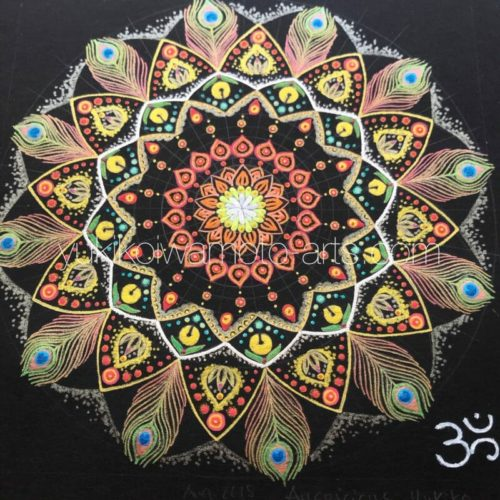 曼荼羅アート「吉兆」