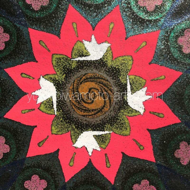 曼荼羅アート「豊穣」
