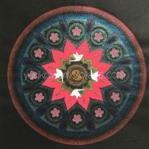 曼荼羅アート「豊穣」|Mandala art