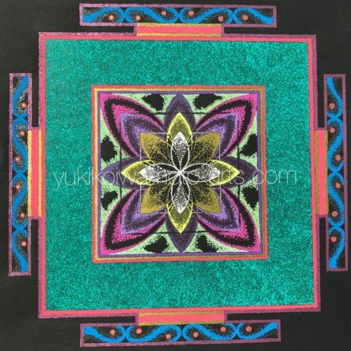 曼荼羅アート「喜び」|Mandala art