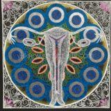 曼荼羅アート「子宮・愛すべき母なる地球」