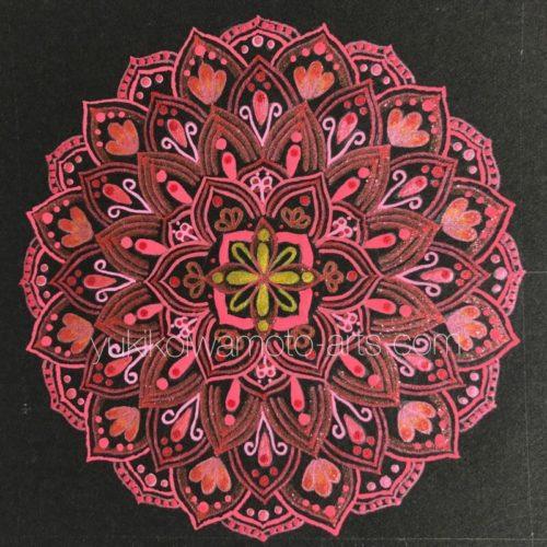 曼荼羅アート「愛」|Mandala art