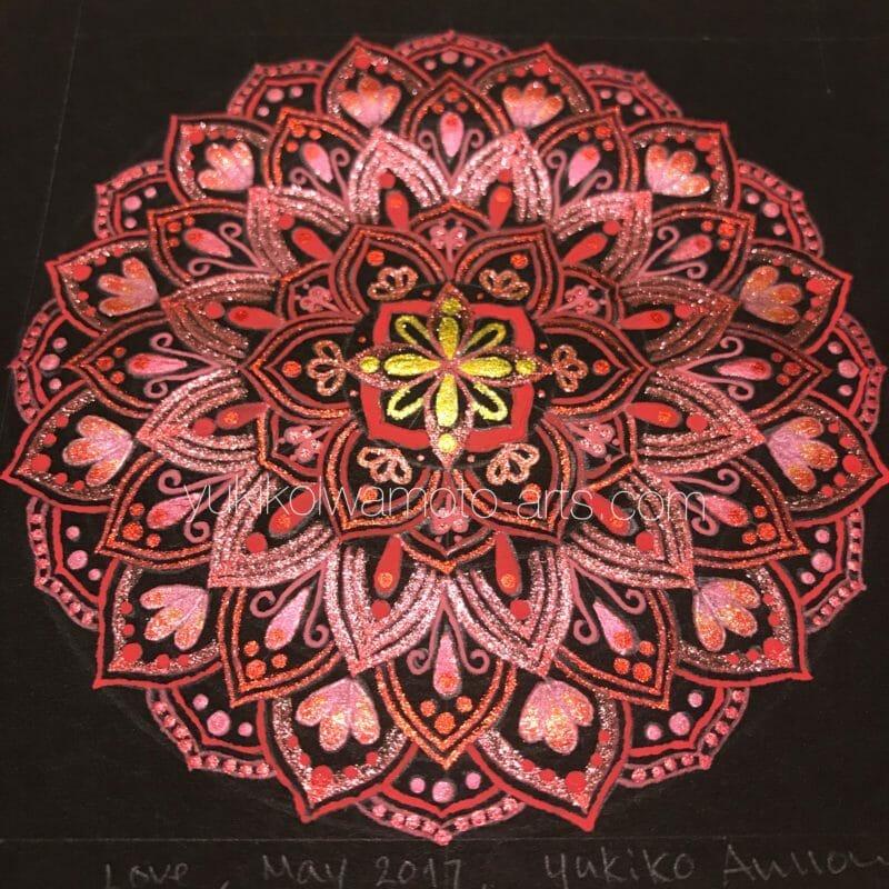mandala art love