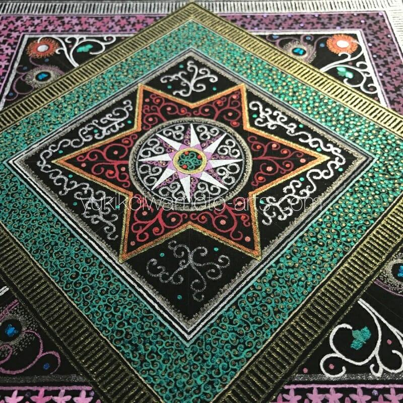 曼荼羅アート「魂の輝き」