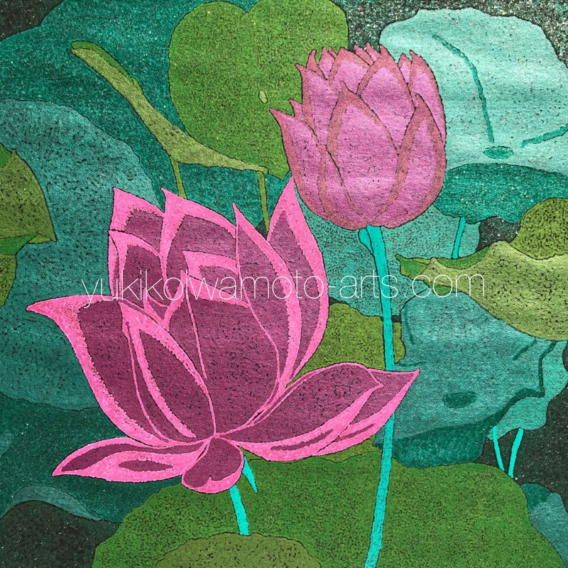 center image of mandala art pink lotus