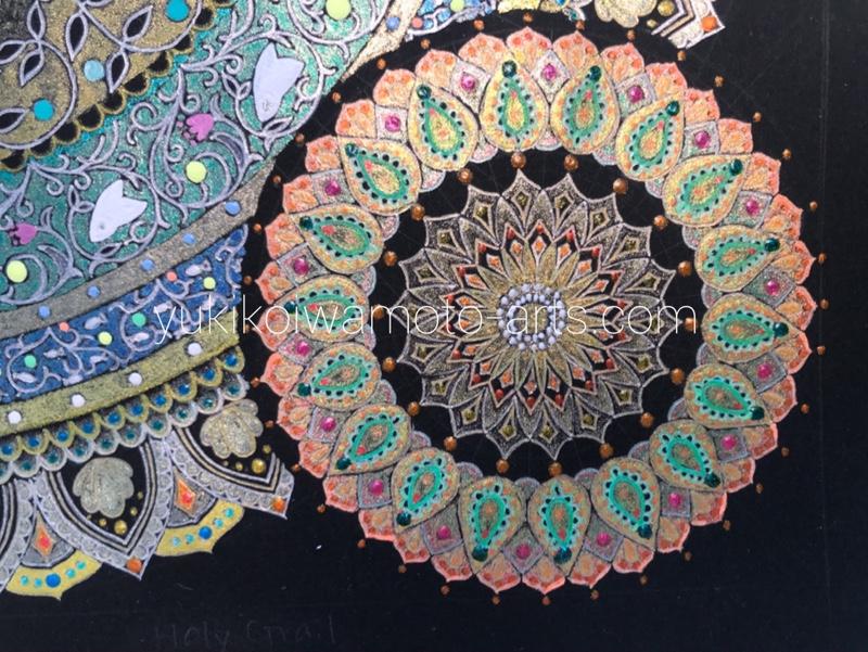one small mandala of mandala art holy grail