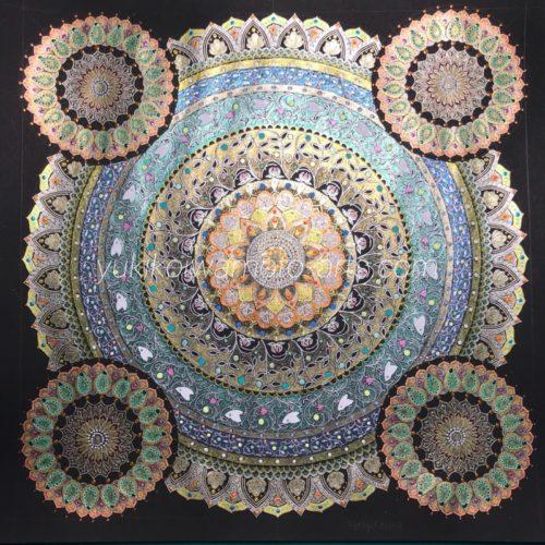 曼荼羅アート「聖杯」