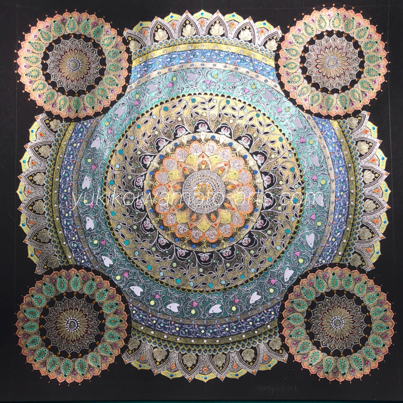 mandala art holy grail
