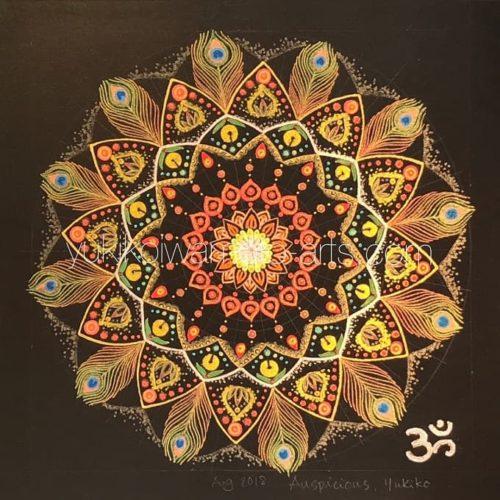 曼荼羅アート「吉兆」|Mandala art