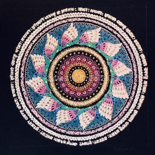 曼荼羅アート「救済」