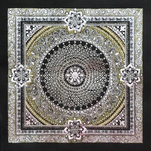 """曼荼羅アート「プラサード」/Mandala Art """"Prasad"""""""