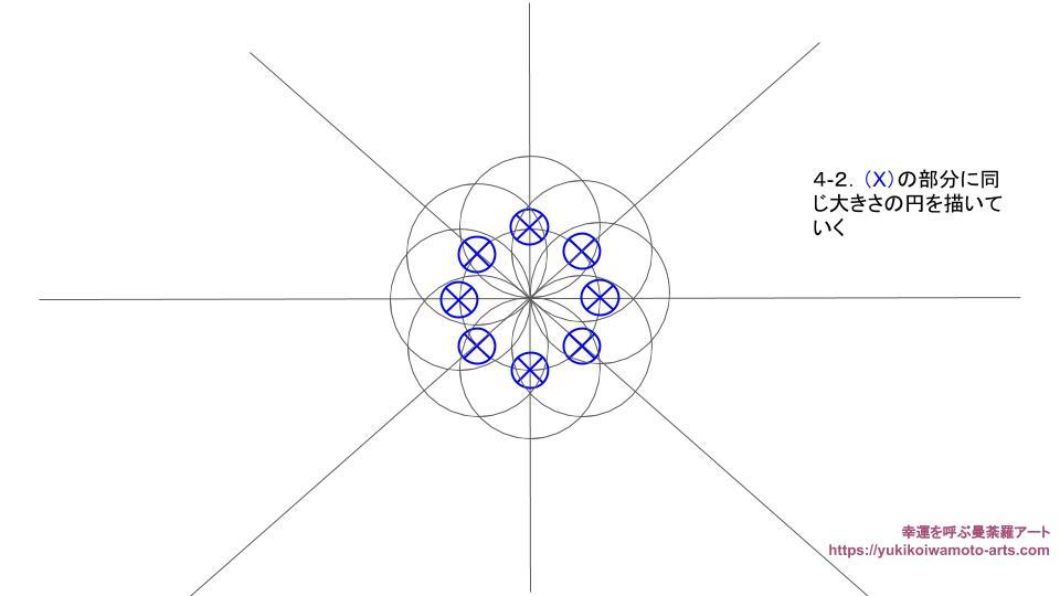 compass drawing procedure-4