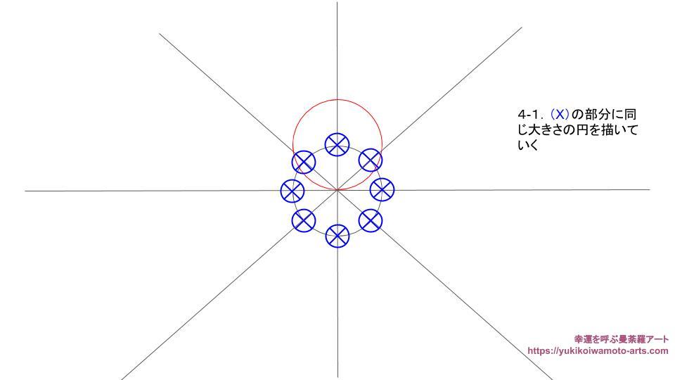 compass drawing procedure-3
