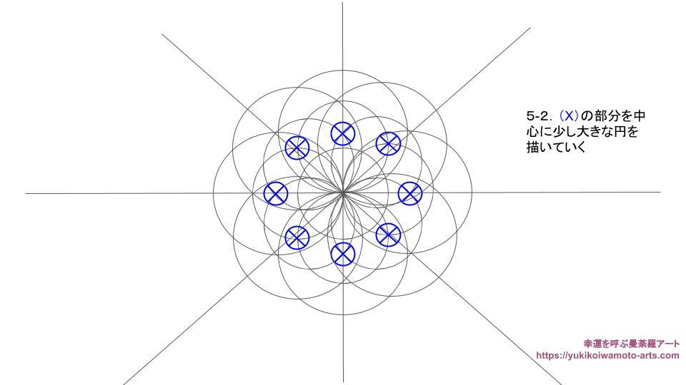 compass drawing procedure-6