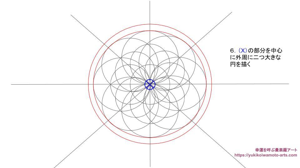 compass drawing procedure-7
