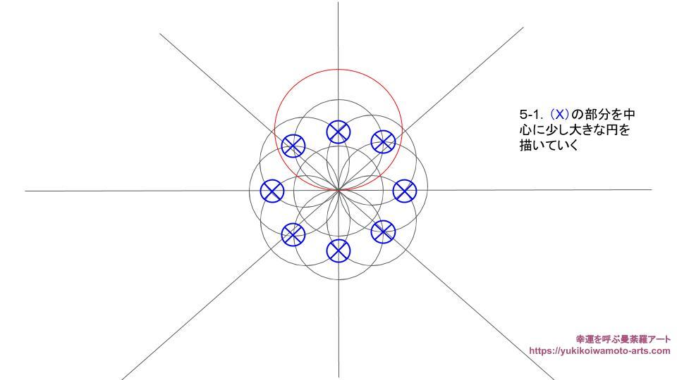 compass drawing procedure-5