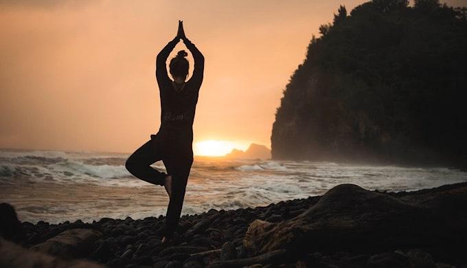 yoga tree posture