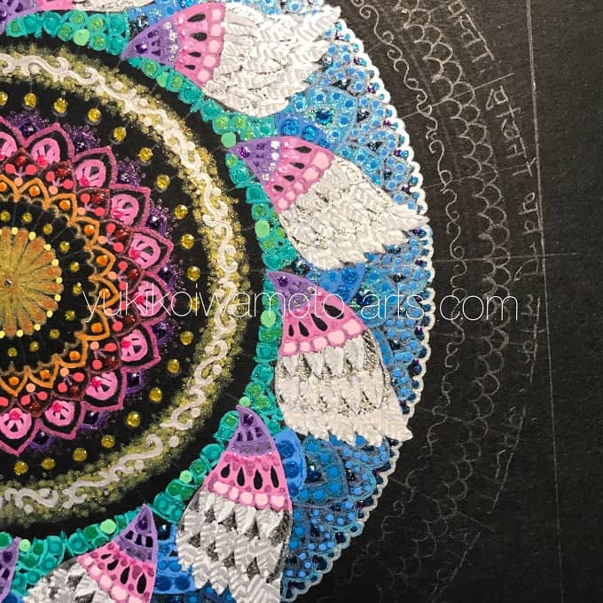 "mandala art ""salvation"" drawing process 9"