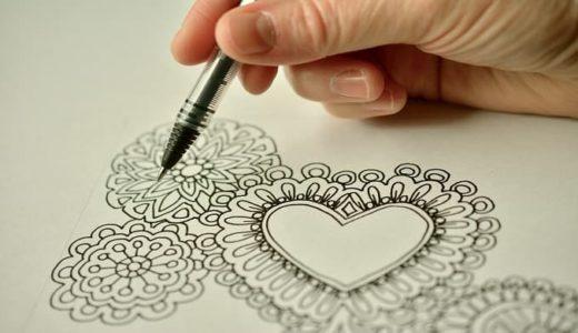 白い紙に美しく曼荼羅アートを描くための重要ポイント5点まとめ