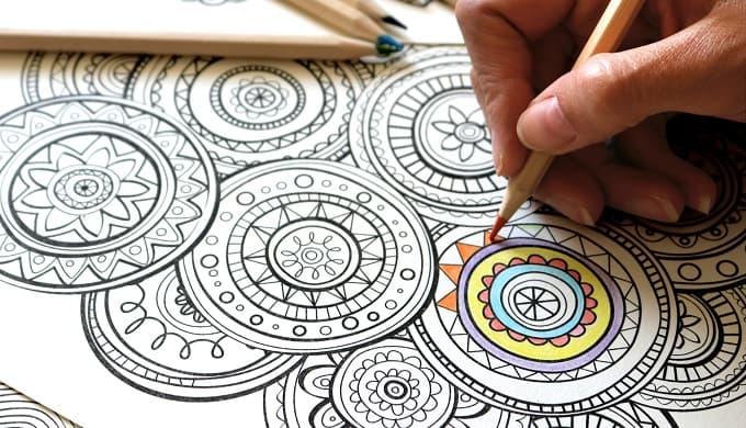 painting mandala art