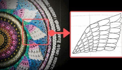 簡単フリーハンド 天使の羽根イラストの描き方手順【ダウンロード】