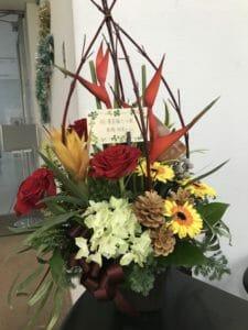 高橋裕美子さんから頂いたお花