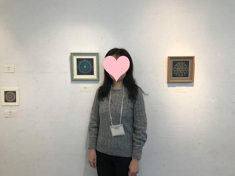 2018年曼荼羅アート展Hさんの作品