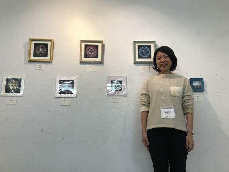 2018年曼荼羅アート展あいさんの作品