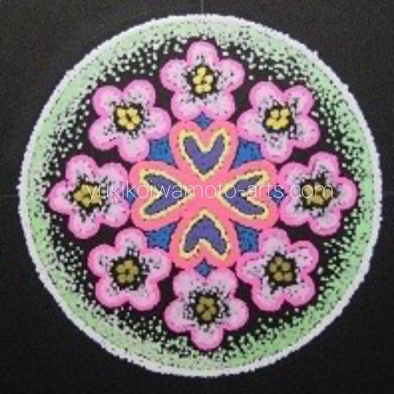 mandala art for a special friend